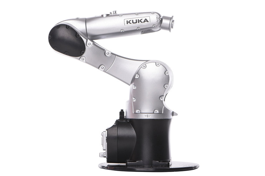 Robotermodell KR AGILUS *120 Jahre Edition* von KUKA