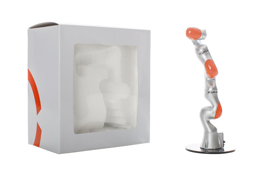 Model Robot LBR iiwa von KUKA
