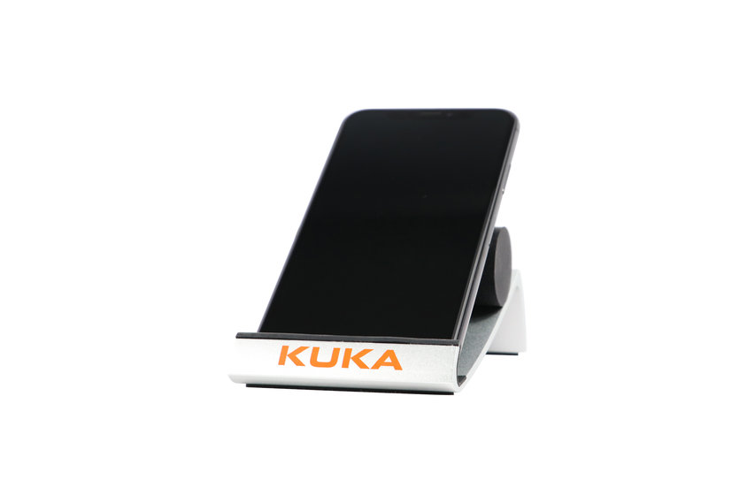 Tablet and Smartphone holder of KUKA